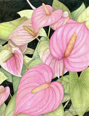 Painting - Conservatory Pink by Tammie Painter