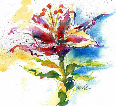 Painting - Consider The Lily by Jacki Kellum