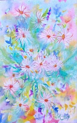 Wall Art - Painting - Consider The Lilies by Debra Link