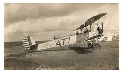 Photograph - Consolidated O-17 Courier 1928 by US Army Signal Corp
