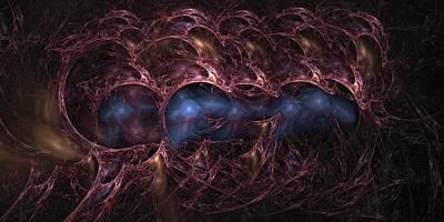 Digital Art - Consolidation Of Consciousness by Doug Morgan
