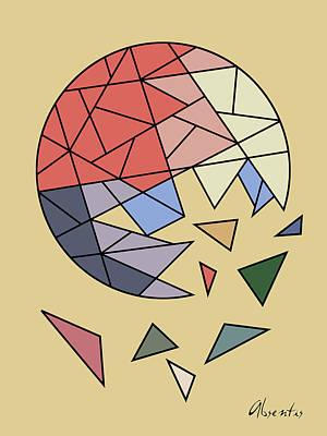 Abstractart Digital Art - Constant Evolution by Absentis Designs
