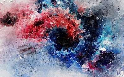 Painting - Constant Motion by Andrea Mazzocchetti