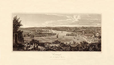 Photograph - Constantinople 1811 by Andrew Fare