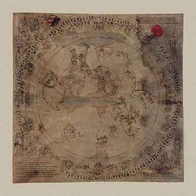 Photograph - Constellation Chart 1503 by Andrew Fare