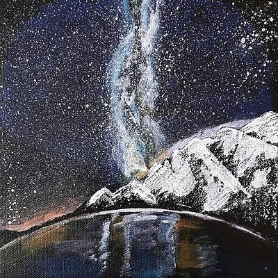 Constellations Painting - Constellation by Sonal Poghat
