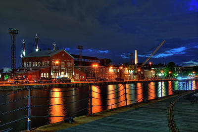 Photograph - Constitution Marina - Boston Navy Yard by Joann Vitali