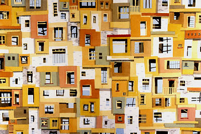 Construction 30 Art Print by Ashley Lathe