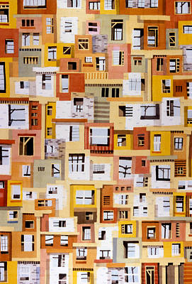 Construction 34 Art Print by Ashley Lathe