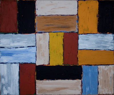 Painting - Construction2 by John Farley