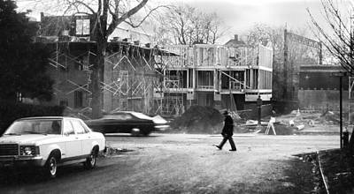 Photograph - Construction Phase In Montclair by Kellice Swaggerty