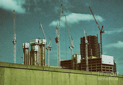 Stratford Photograph - Construction Works In Stratford by Jasna Buncic