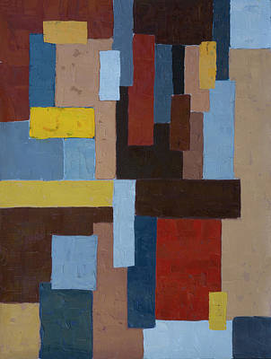 Painting - Construction3 by John Farley