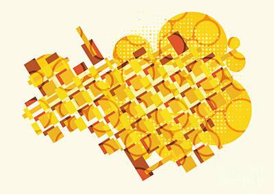 Constructive   Art Print by Igor Kislev