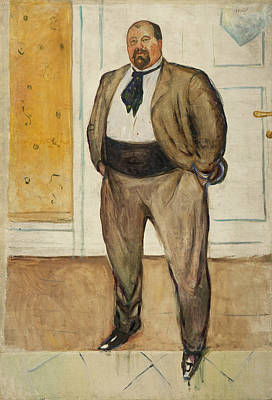 Painting - Consul Christen Sandberg by Edvard Munch
