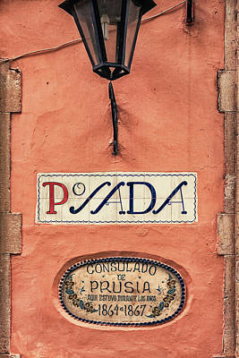 Photograph - Consulado De Prusia by Tatiana Travelways
