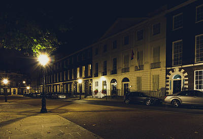 Photograph - Consulate Of Angola By Night C by Jacek Wojnarowski