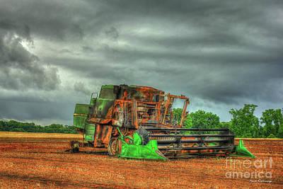 Photograph - Consumed Wheat Field Fire Art by Reid Callaway