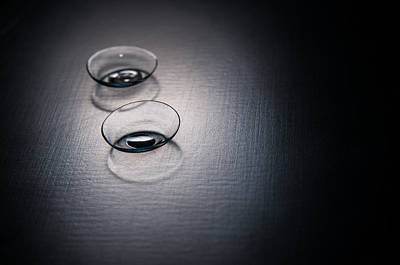 Optician Photograph - Contact Lenses by Ondrej Supitar