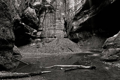 Starved Rock Wall Art - Photograph - Containment by Jason Wolters