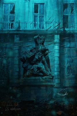 Cuttlefish Digital Art - Conte Verde by Andrea Gatti