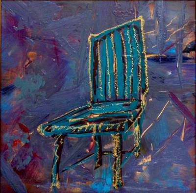 Contemplating Chair#4  Original by Original Art For your home