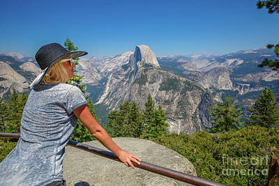 Photograph - Contemplating Glacier Point by Benny Marty