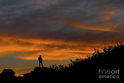 Photograph - Contemplation At Sunrise by Steve Purnell