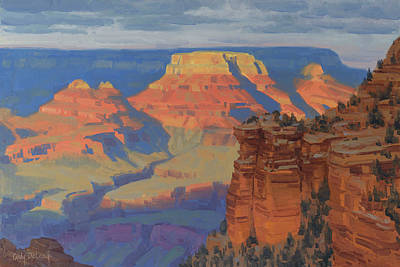 Arizona Painting - Contemplation by Cody DeLong