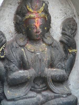 Hindu Goddess Photograph - Contemplation by Dagmar Batyahav
