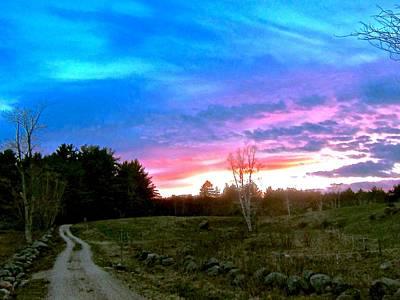Sunset Photograph - Contemplation by Elizabeth Tillar