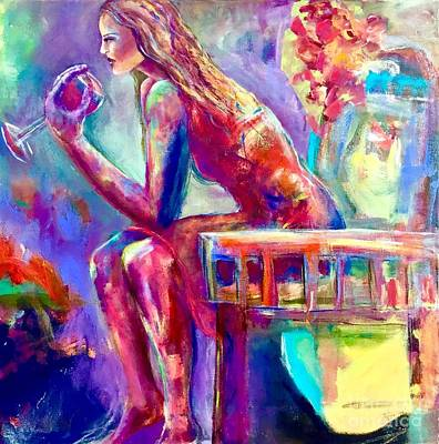 Painting - Contemplation by Gail Butters Cohen