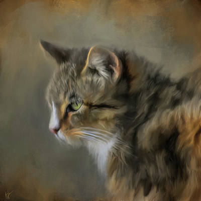 Painting - Contemplation by Jai Johnson
