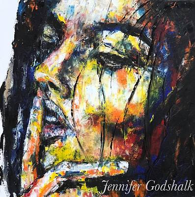 Painting - Contemplation by Jennifer Godshalk