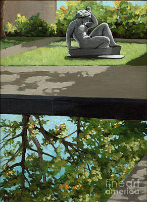Contemplation Art Print by Linda Apple