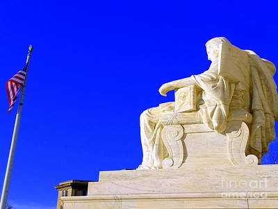 Photograph - Contemplation Of Justice by Ed Weidman