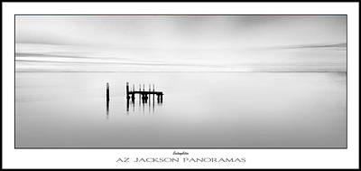Sunset Abstract Photograph - Contemplation Poster Print by Az Jackson