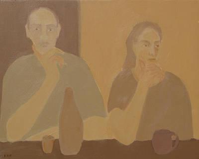 Contemplation Art Print by Renee Kahn
