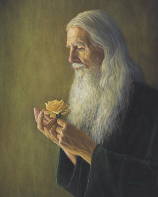 Painting - Contemplation by Rita Romero