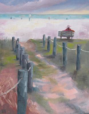 Susan Richardson Painting - Contemplation by Susan Richardson