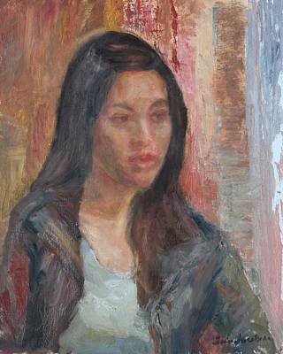 Painting - Contemplative by Quin Sweetman