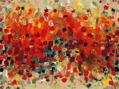 Contemporary Art Thirty-three Art Print