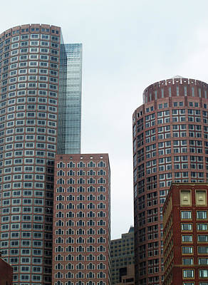 Photograph - Contemporary Boston Architecture by Mary Capriole