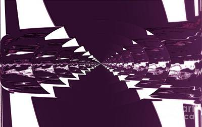 Shower Digital Art - Contemporary Jukebox by Marsha Heiken