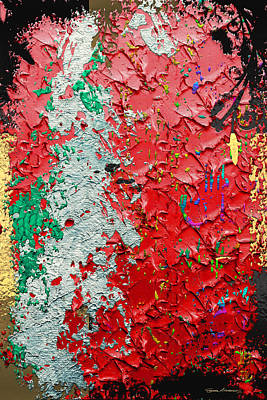 Digital Art - Contemporary Jungle No. 2 by Serge Averbukh