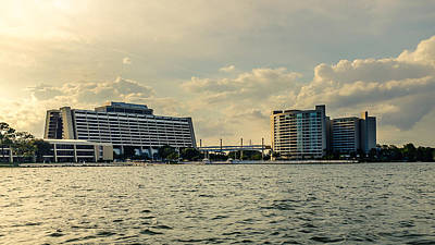 Photograph - Contemporary Resort by Chris Bordeleau