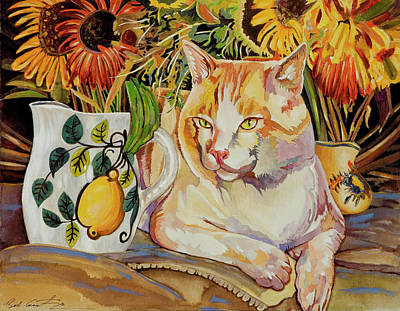Painting - Contentment by Bob Coonts