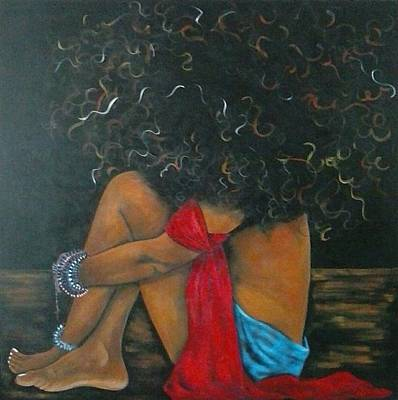 Painting - Contentment by Jenny Pickens