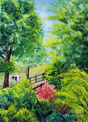 Painting - Contentment by Nancy Cupp