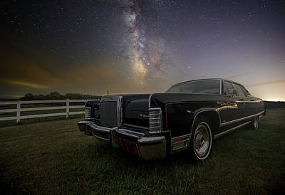 Lincoln Photograph - Continental  by Aaron J Groen